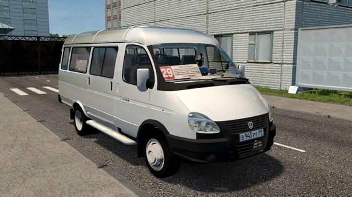 City Car Driving 1.5.9 – GAZelle 32217 Business