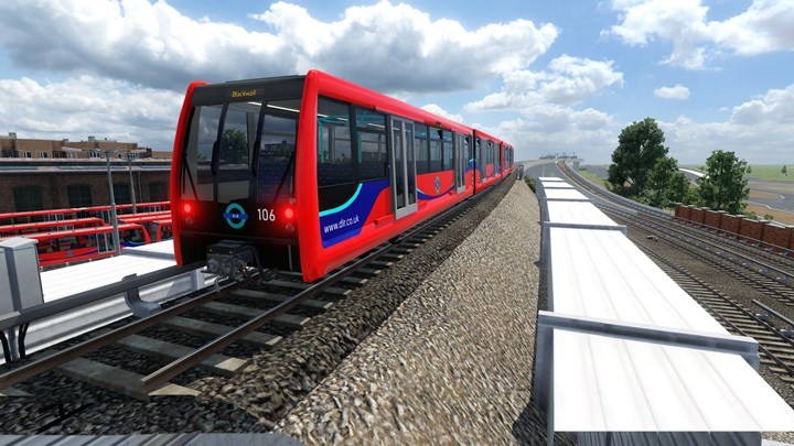 Transport Fever 2 - DLR B07 Train