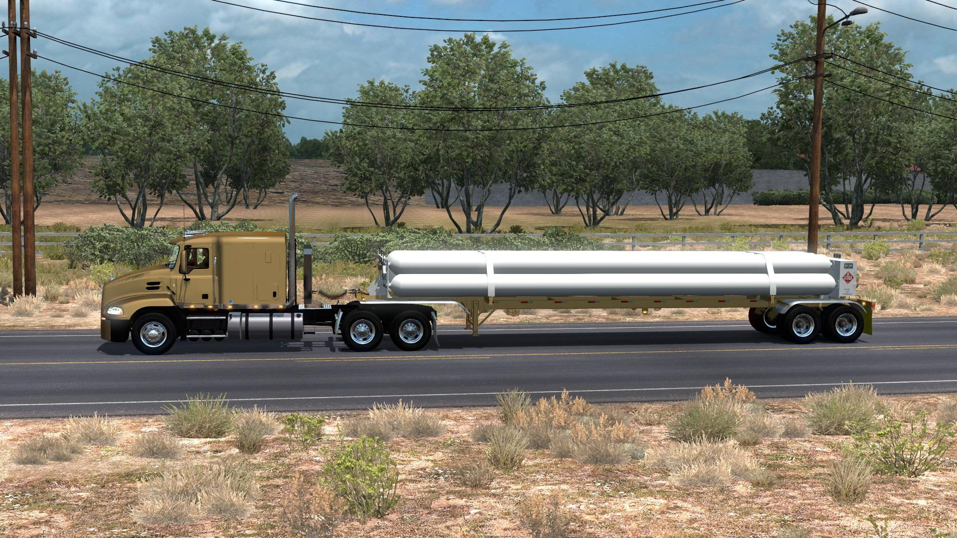 ATS - Cng Tube Trailer 7 Tubes ISO 48FT (1.36.x)