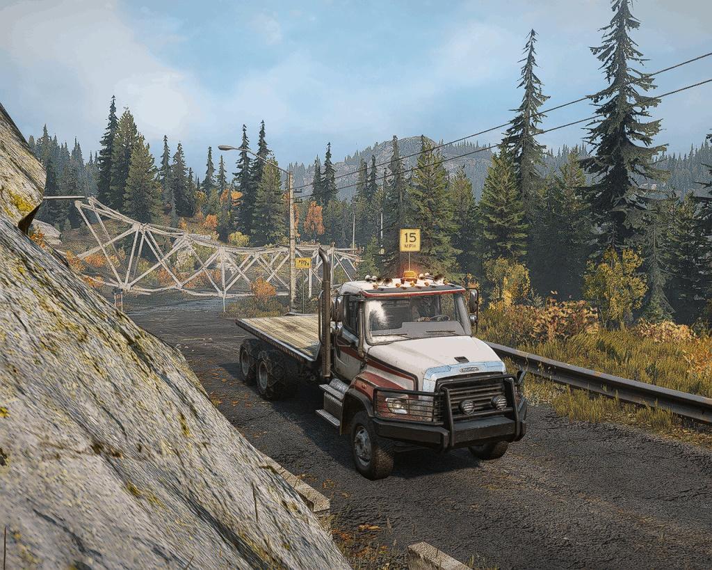 SnowRunner - Freightliner 114 SD Heavy Truck