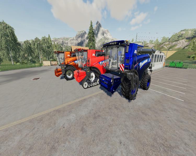 FS19 - New Holland CR1090 Maxi V1.0
