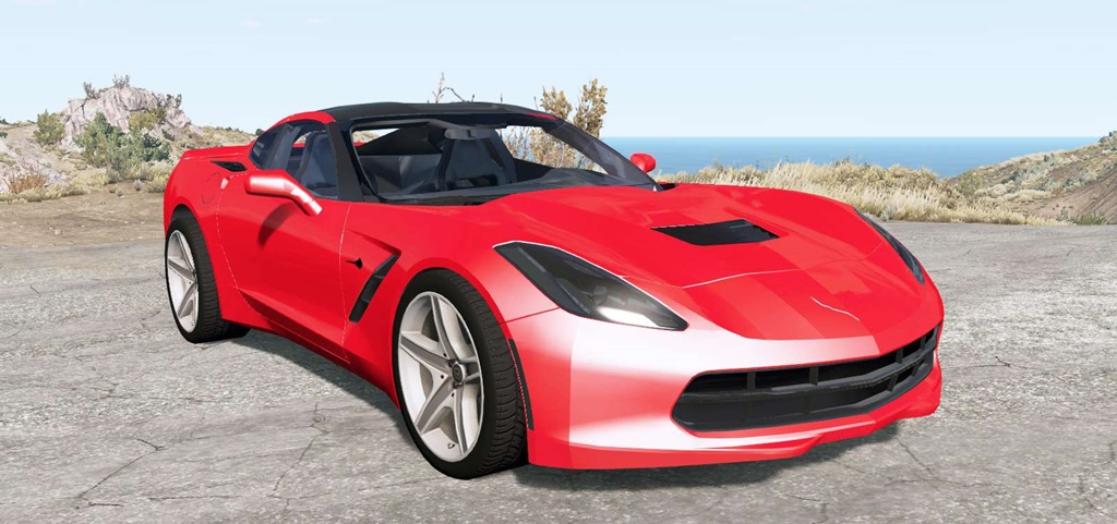 BeamNG - Chevrolet Corvette Stingray Coupe (C7) 2013 Car Mod