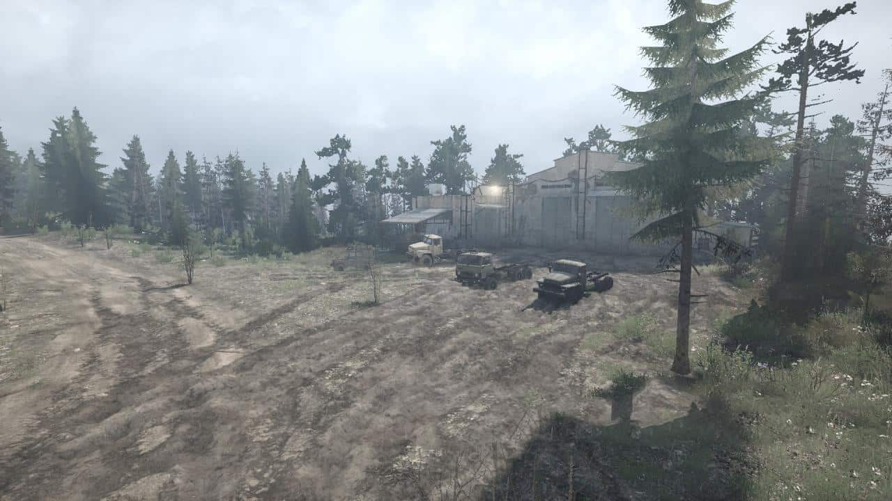 SpinTires:Mudrunner - Forest Roads 2 Map v09/09/19