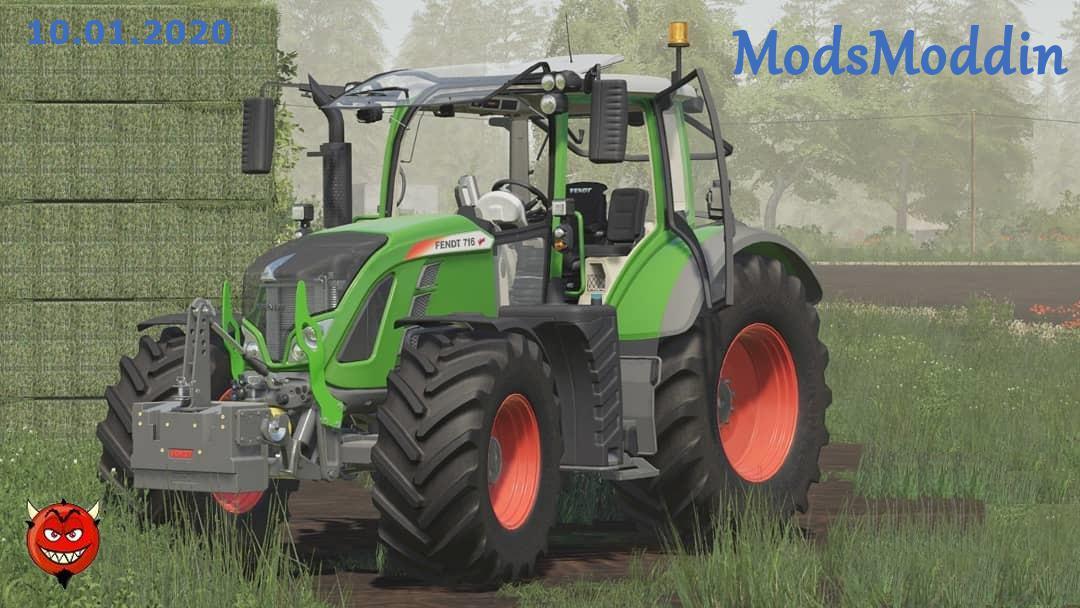 FS19 - Fendt 700 Vario S4 Serie V1.5