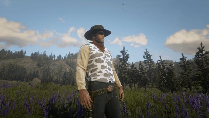 RDR2 - Cow Pattern Vest