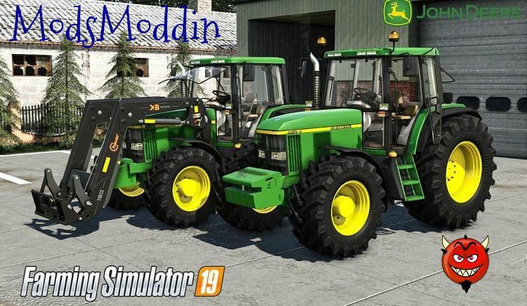 FS19 - John Deere 6610/6810 / 6910 / 6910S Tractor V2.5
