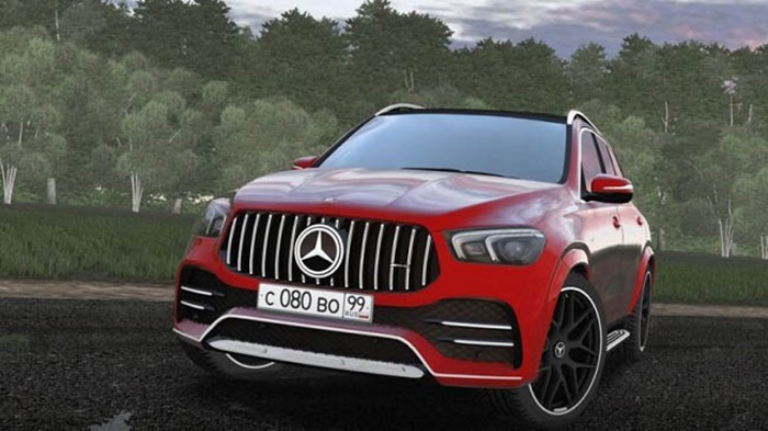 City Car Driving 1.5.9 – Mercedes-AMG GLE 53 4Matic
