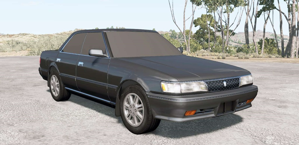 BeamNG - Toyota Chaser GT Twin Turbo (GX81) 1990 Car Mod