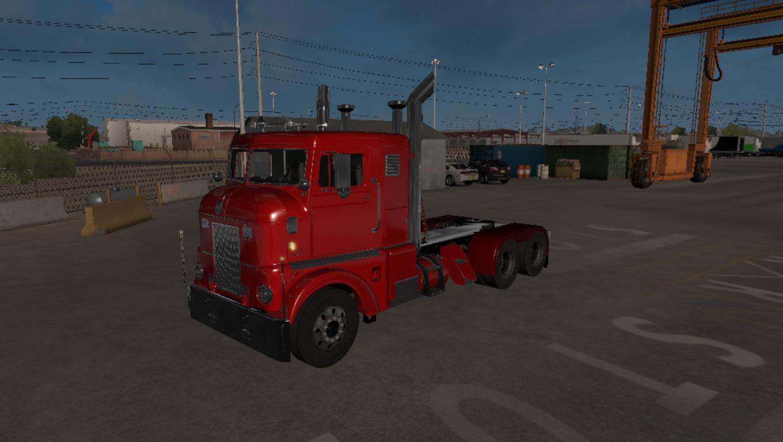 ATS - Peterbilt 350 Cabover 1984 Truck (1.37.x)