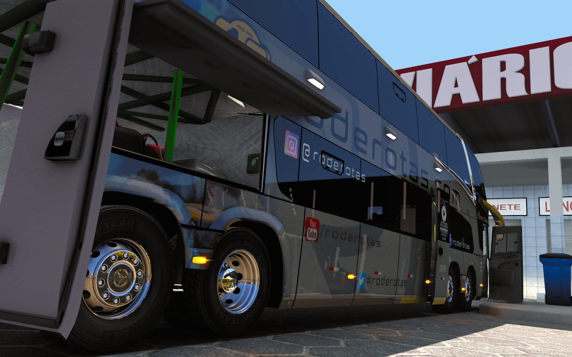ETS2 - Marcopolo G7 1800 DD Bus (1.39.x)