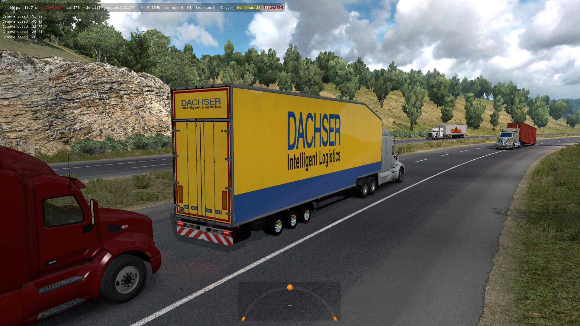ATS - Krone Doubledeck Trailer in Traffic Mod (1.36.x)