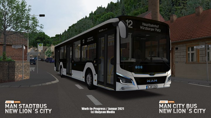 Omsi 2 - Add-on Man Stadtbus New Lions City