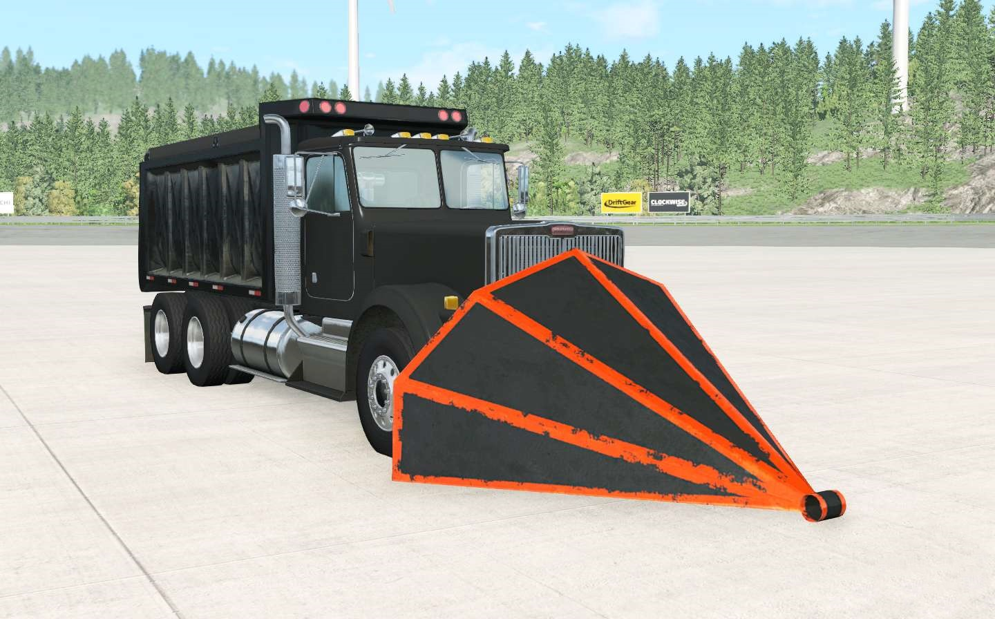 BeamNG - Gavril T-Series Destroyer Truck V2.3
