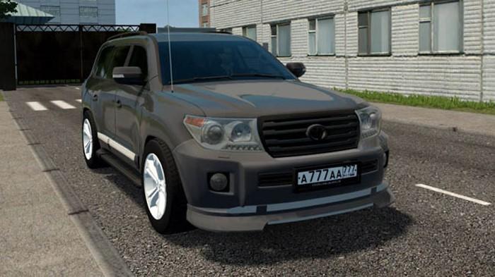 City Car Driving 1.5.9 - Toyota Land Cruiser 200 Tuning