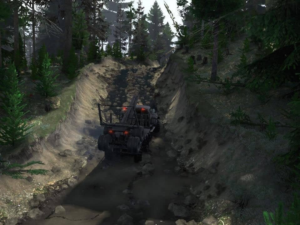Spintires - Call 5: Swamp Map V1.1