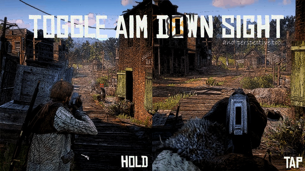 RDR2 - Toggle ADS (Aim Down Sight)