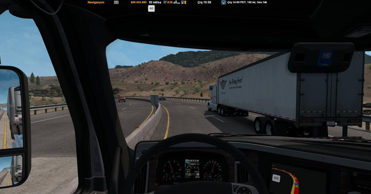ATS - Tuned Traffic Pack Speed V1.0 (1.38.x)