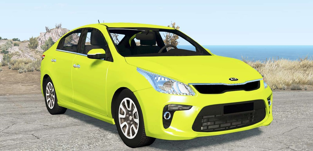 BeamNG - Kia Rio (FB) 2017 Car Mod