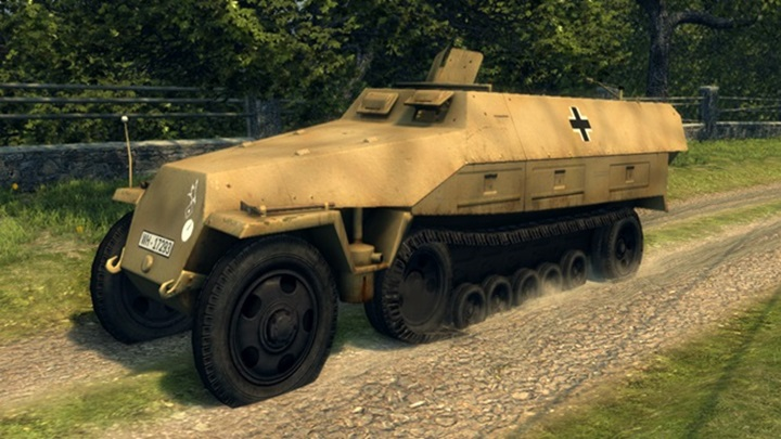 Mafia 2 – Nazi Armored Personnel Carriers Sd Kfz 251