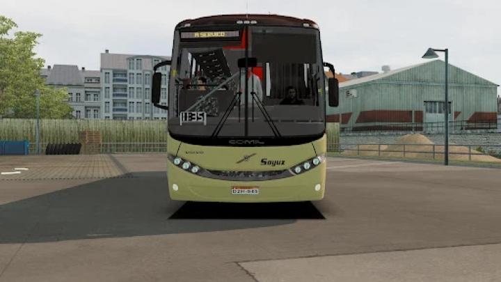 ETS2 - Comil 345 L Volvo 6x2 (1.41.x)