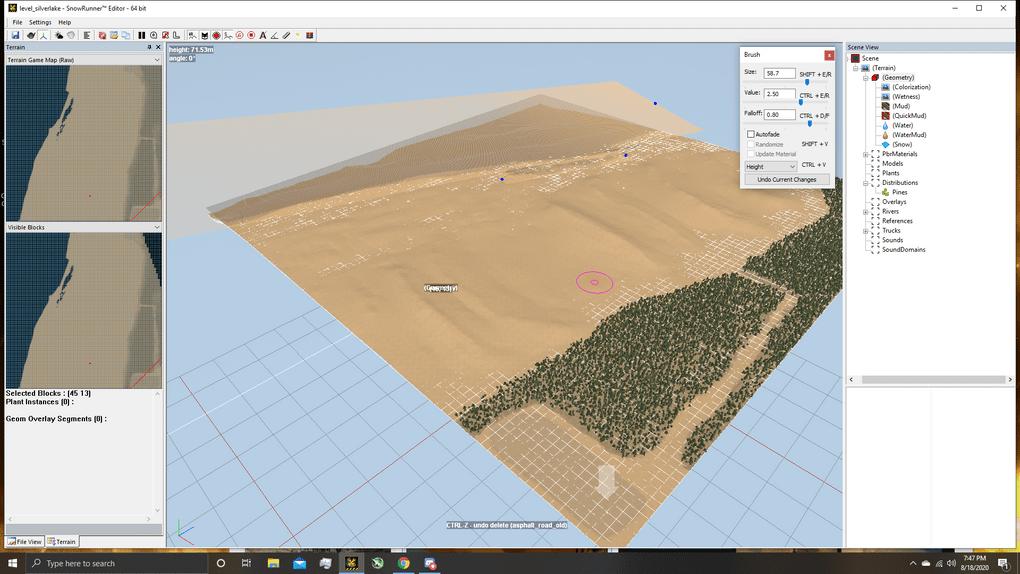SnowRunner - Silver Lake ORV Park Map V1.0 Alpha