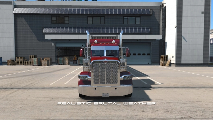 ATS - Realistic Brutal Weather Unforgiving V3.4 (1.40.x)