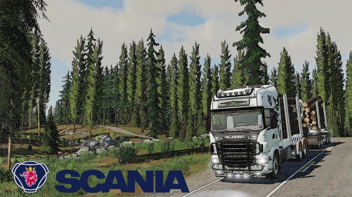 FS19 - Scania R730S Timber Truck V1.0