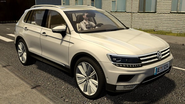 City Car Driving 1.5.9 - Volkswagen Tiguan 2016