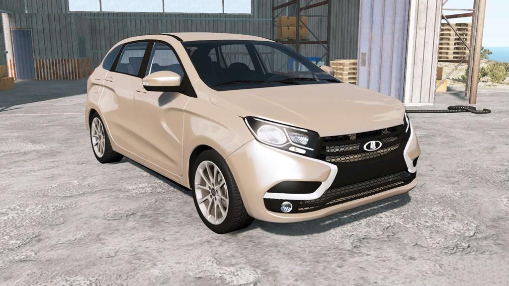BeamNG - Lada XRAY (GAB) 2015 Car Mod