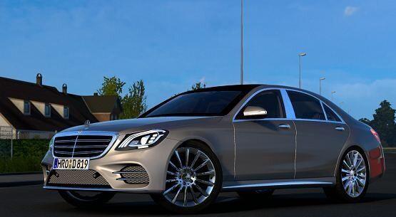 ETS2 - Mercedes-Benz S400D V4.0 (1.40.x)