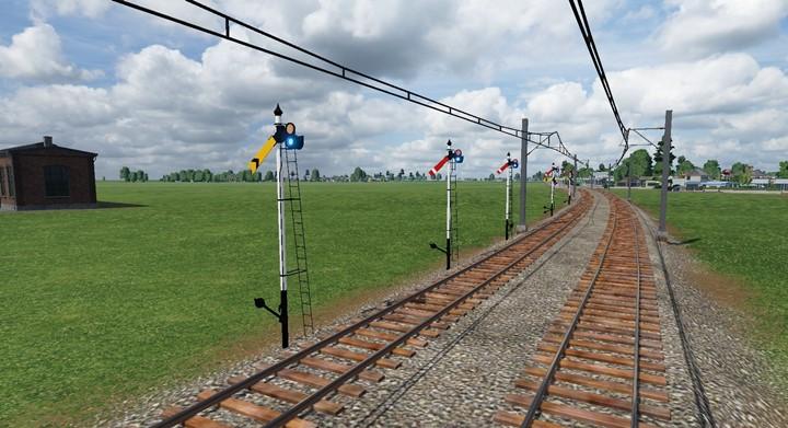 Transport Fever 2 - Japanese Railway Signal Series (Arm Tree Type Signal)