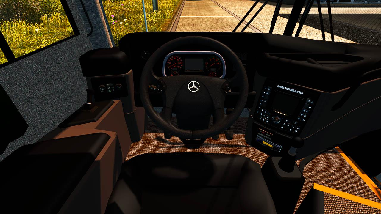 ETS2 - Neo New Road N10 Mercedes Bus Mod (1.36.x)
