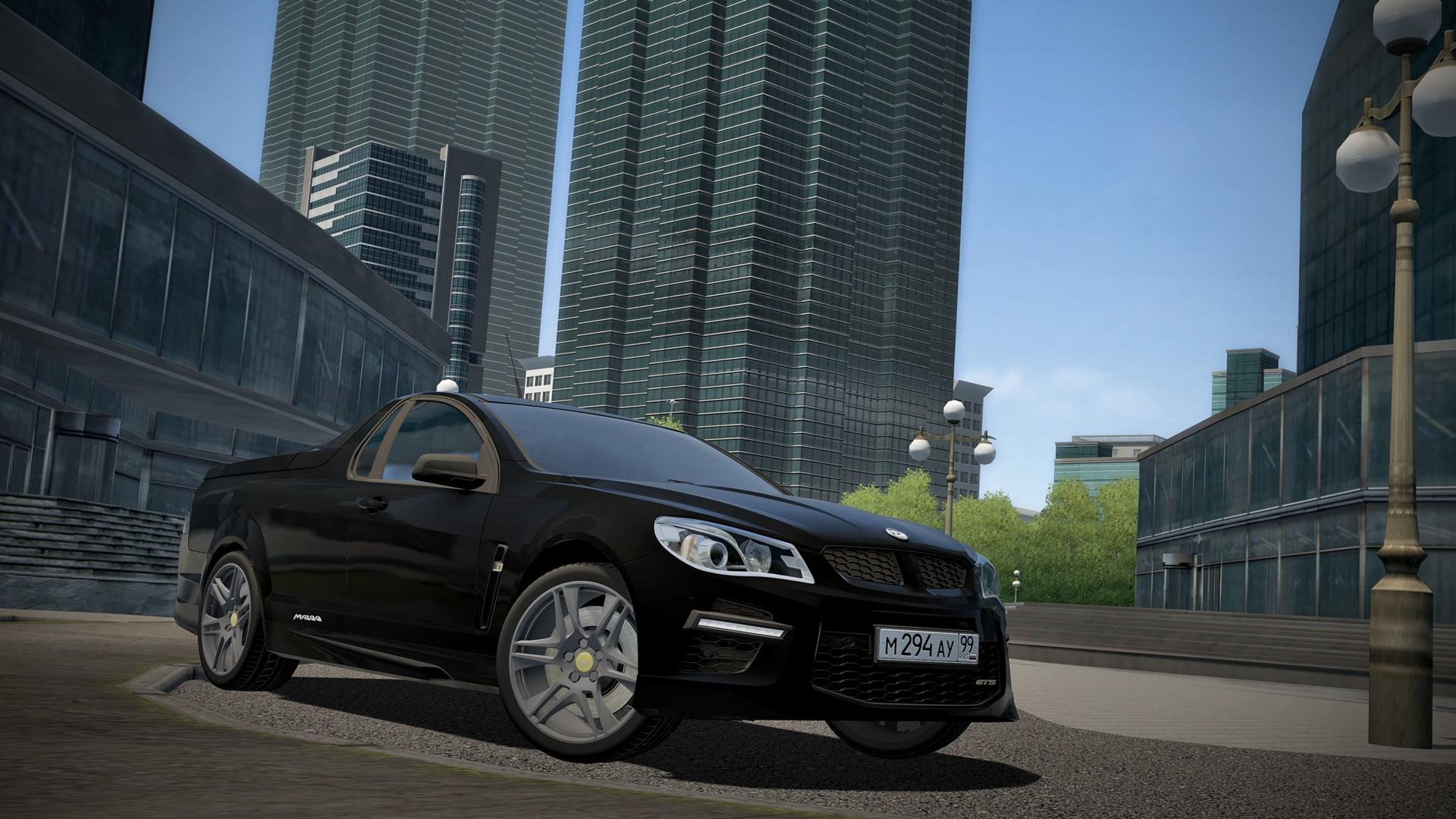 City Car Driving 1.5.8 - HSV GTS Maloo 2014
