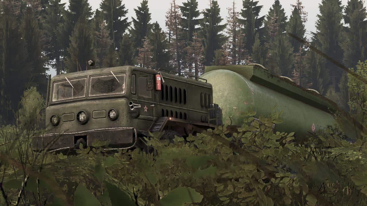 Spintires - Military Tank V1