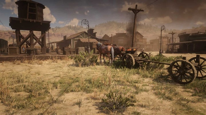 RDR2 - Prosperous and More Populated and Advanced Tumbleweed Mod