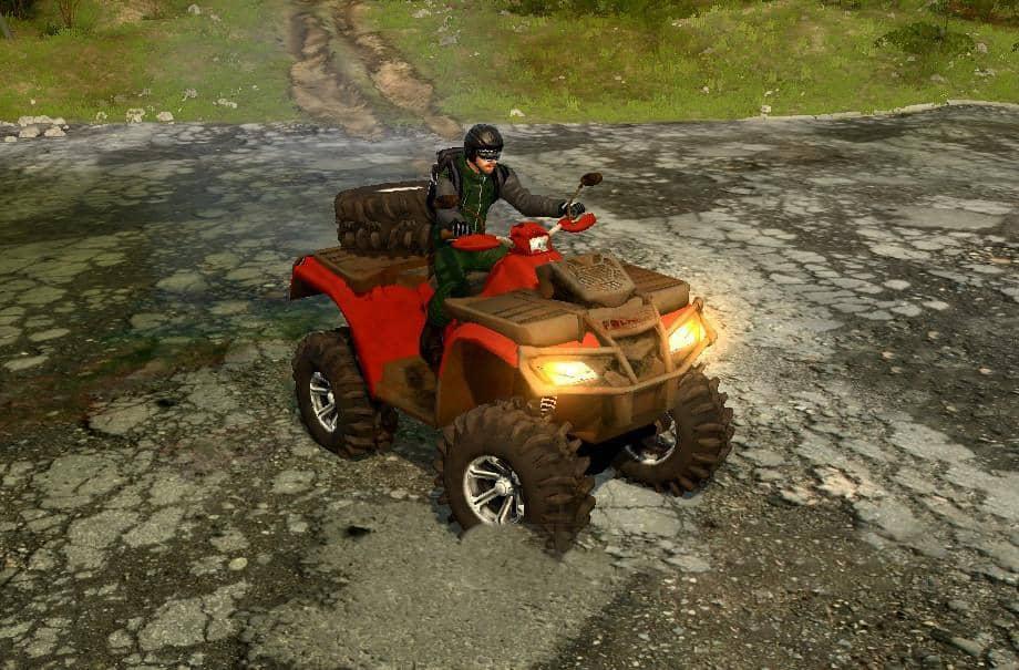 Spintires:Mudrunner - ATV Mod V1