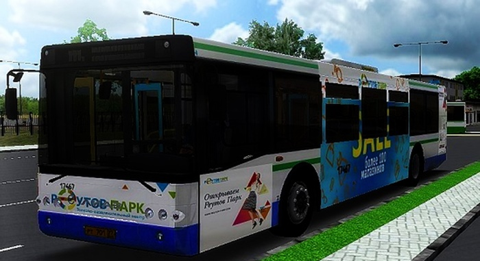Omsi 2 – Liaz 5292.22 Reutov Park Repaint Mod
