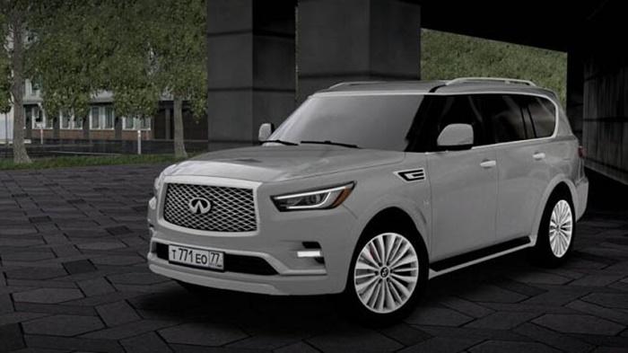 City Car Driving 1.5.9 – Infiniti QX80 2019
