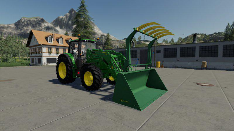 FS19 - John Deere Grapple Bucket V1.0