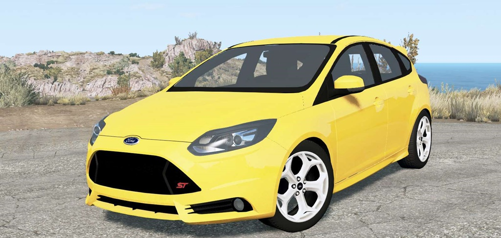 BeamNG - Ford Focus ST (DYB) 2013 Car Mod