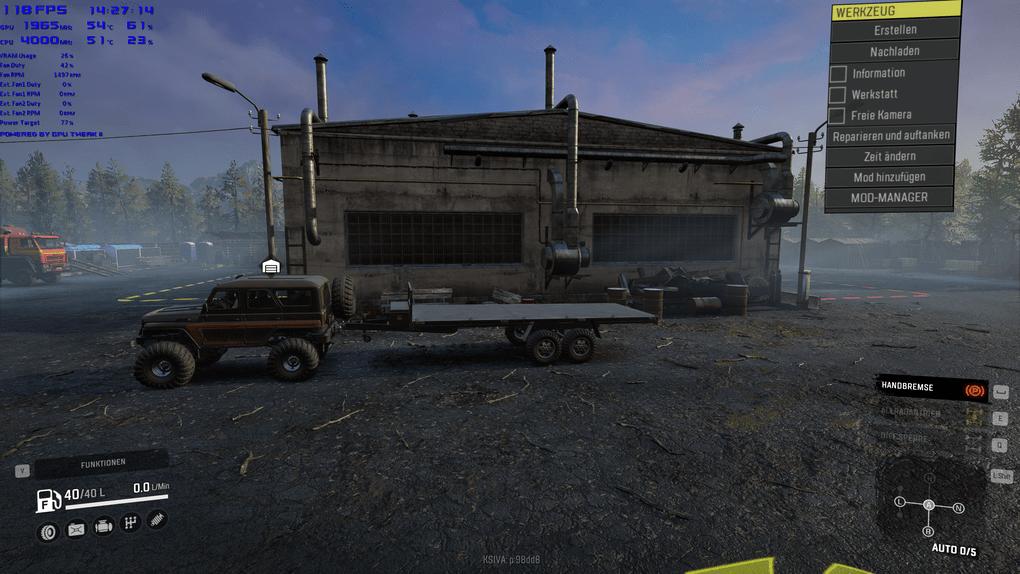 SnowRunner - Kahn 39 Trailer Added V1.0