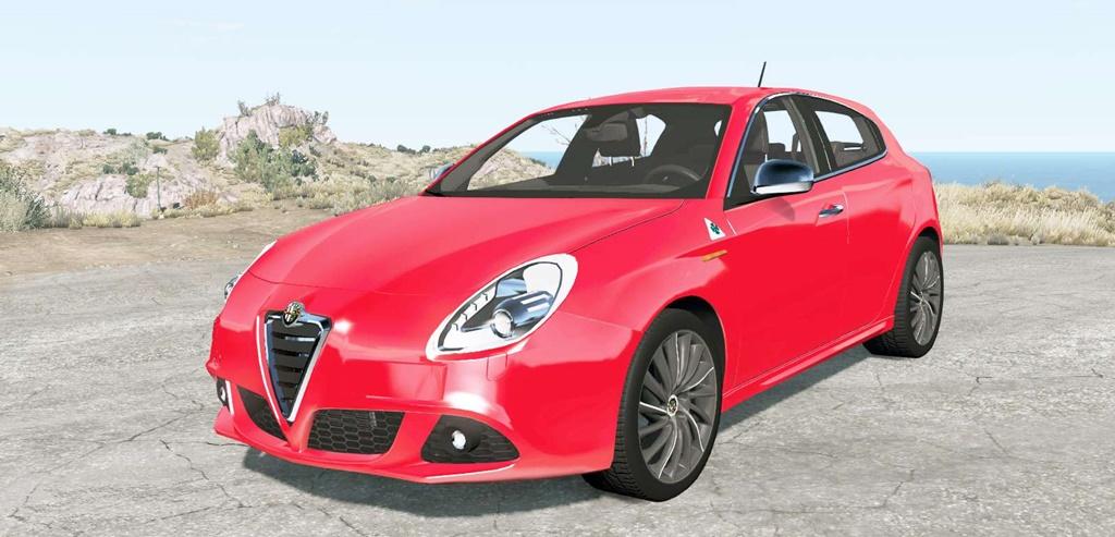 BeamNG - Alfa Romeo Giulietta (940) 2013 Car Mod