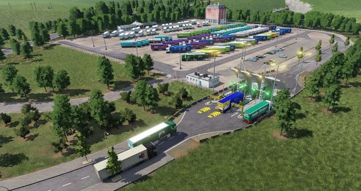 Transport Fever 2 - Car Parks