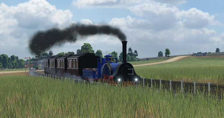Transport Fever 2 - Caledonian Railway Class 76 2-2-2