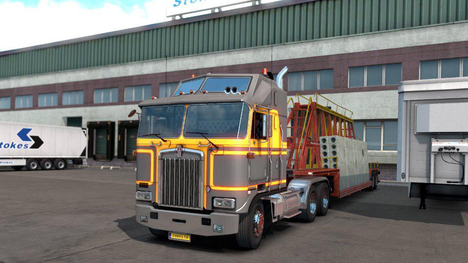 ETS2 - Kenworth K100 Truck V1.2.1 (1.38.x)