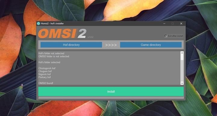 Omsi 2 – Hof Installer V1.0.3