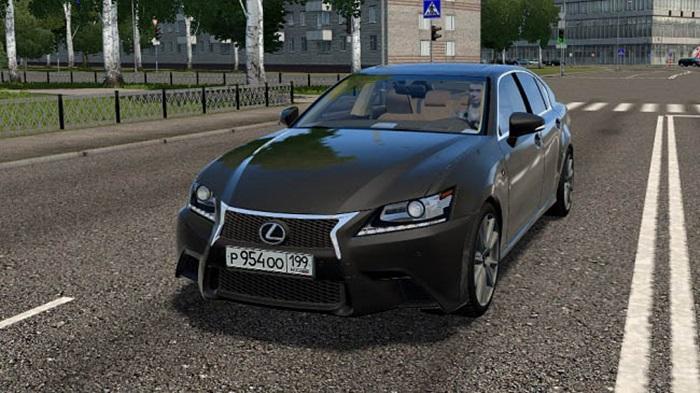City Car Driving 1.5.9 - Lexus GS 350 F Sport
