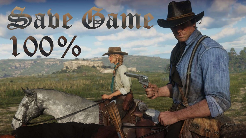Red Dead Redemption 2 -Save 100 Percent - Envelope PS4