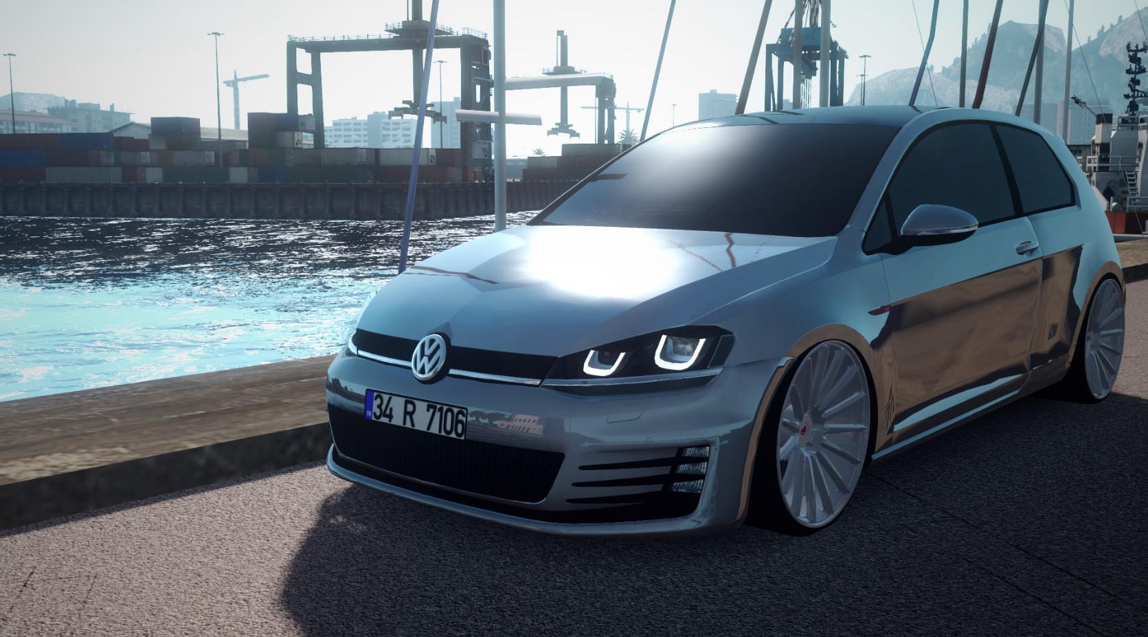 ETS2 - Volkswagen Golf 7 V2 (1.35.X)