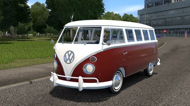 City Car Driving 1.5.9 - Volkswagen Camper